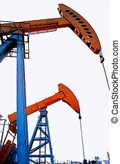 szivattyúzás, egység, olaj