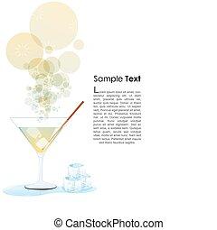 szkło, cocktail