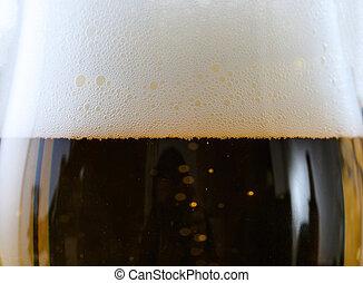 szkło, piwo, szczegół