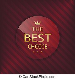szkło, wybór, najlepszy, etykieta