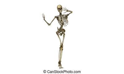 szkielet, taniec