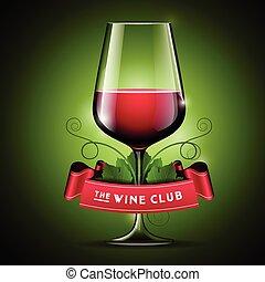 szklane wino