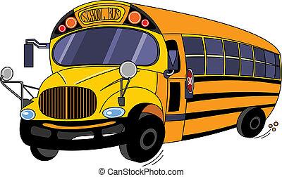 szkoła autobus