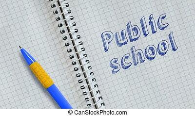 szkoła, publiczność