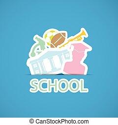 szkoła, wstecz