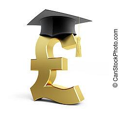 szkoła, wykształcenie, funt, handlowy