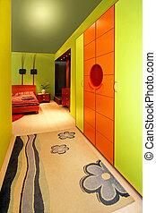 szoba, szekrény