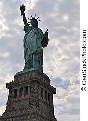 szobor, new york, szabadság