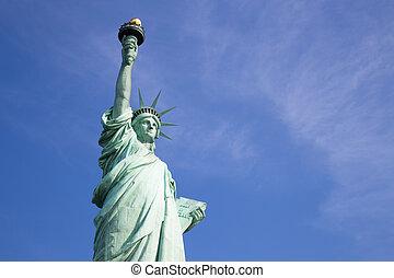 szobor szabadság, új york város