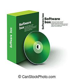 szoftver, doboz