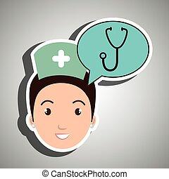 Szolgáltatás, ápoló, egészség, orvosi