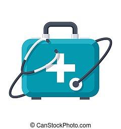 Szolgáltatás, orvosi, ikon