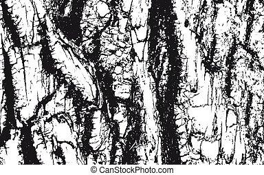 szomorú, fából való, bárka, struktúra, beborítani