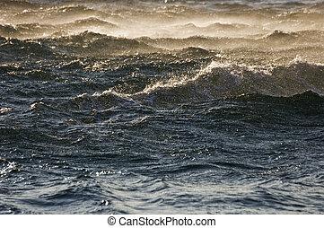 szorstki, morze