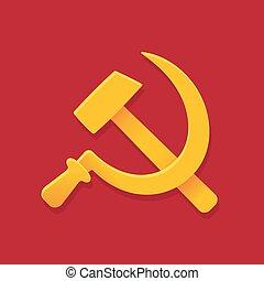 szovjetúnió, kalapács, sarló