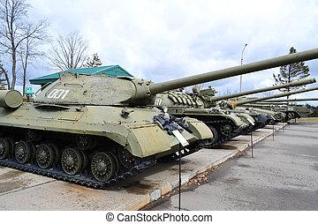 szovjet-, tartály
