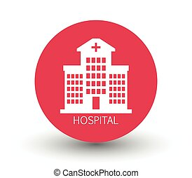 szpital, ikona