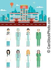 szpitalniane doktorowie