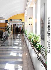 szpitalniany korytarz