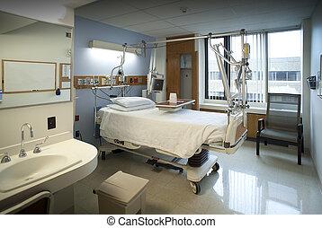 szpitalniany pokój