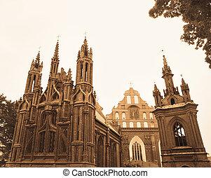 szt., ann, és, szt., bernardin, templomok