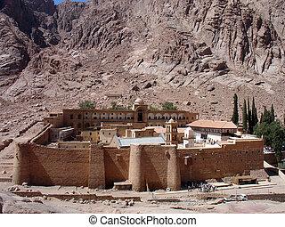 szt., catherine, kolostor, sinai, egyiptom