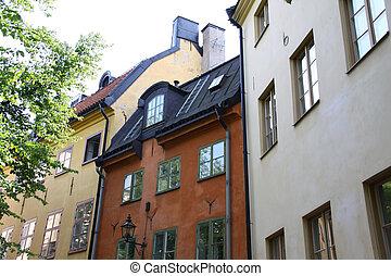 sztokholm, przedimek określony przed rzeczownikami, stare miasto