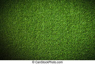sztuczny, trawa, tło