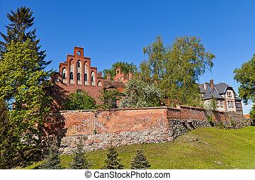 Sztum castle (1335) of Teutonic Order, Poland - Sztum castle...