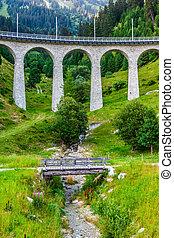 szwajcarski, railway., switzerland.