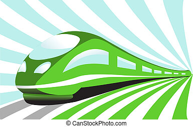 szybkobieżny pociąg