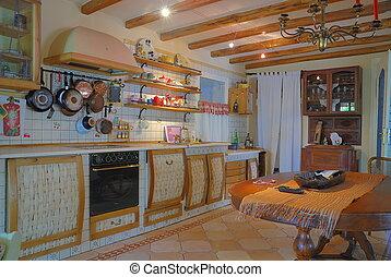 szykowny, kuchnia