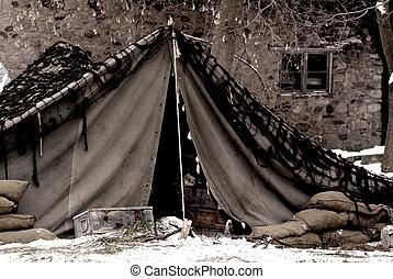 tábor, hozzánk hadsereg