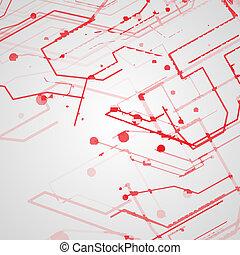 tábua circuito, fundo