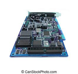 tábua, computador, azul