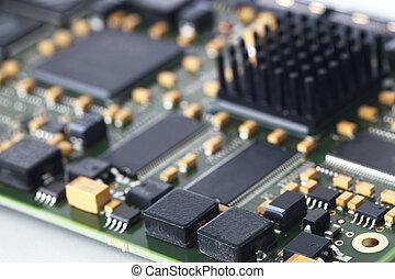 tábua eletrônica, circuito
