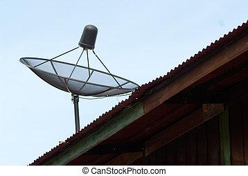 tál, mellékbolygó, roof.