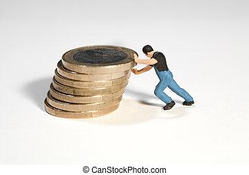 támasz, euro