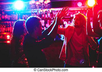 tánc, -ban, disco