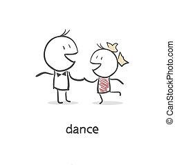 tánc, párosít.