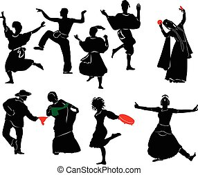 táncos, etnikai