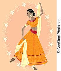 táncos, indiai