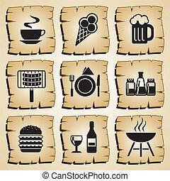 táplálék icons