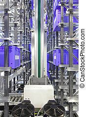 tárolás rendszer, automatizált