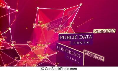 társadalmi, hálózat, háttér, fogalom