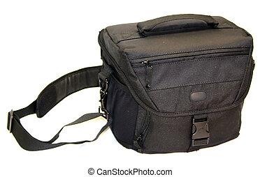 táska, fényképezőgép
