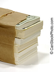 táska of pénz