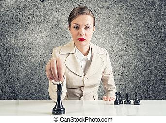 táticas, negócio