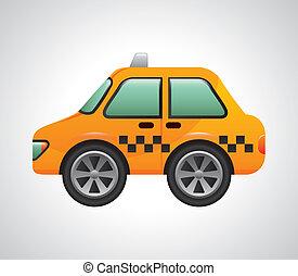 táxi, desenho
