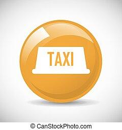 táxi, serviço